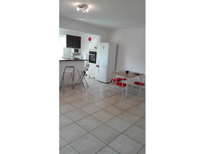 Location Appartement Guadeloupe - Salle à manger