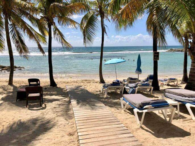 Location Appartement Guadeloupe - plage