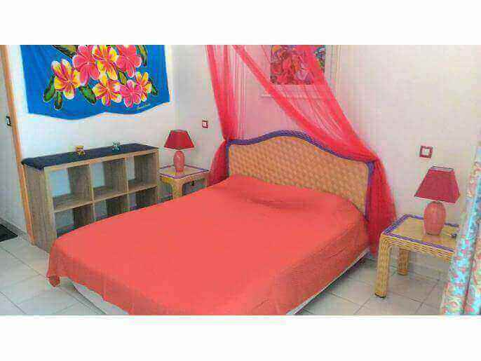 Location Appartement Guadeloupe - chambre