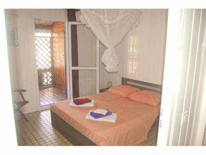 Location Bungalow Guadeloupe - Chambre 1