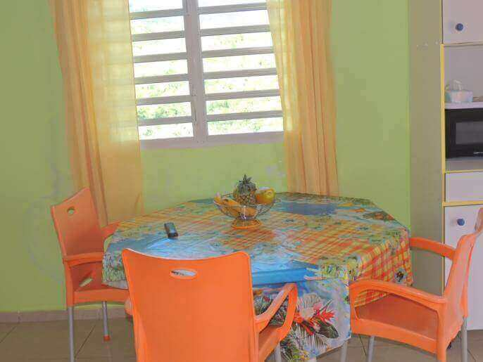 Location Maison/Appartement Guadeloupe - Maison/Appartement 5 couchages Bouillante