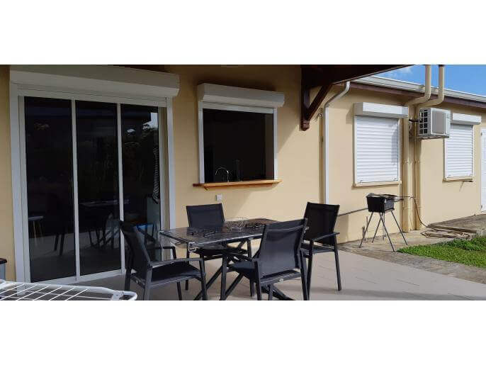 Location Maison/Appartement Guadeloupe - terrasse