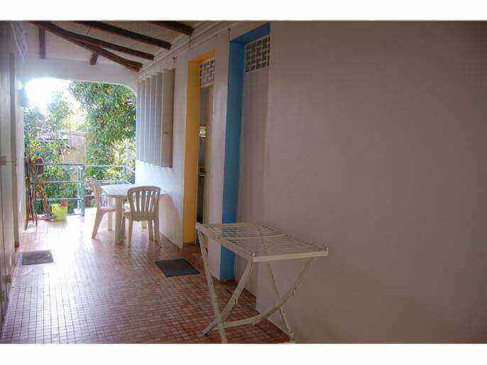 Location Maison/Appartement Guadeloupe - petite terrasse