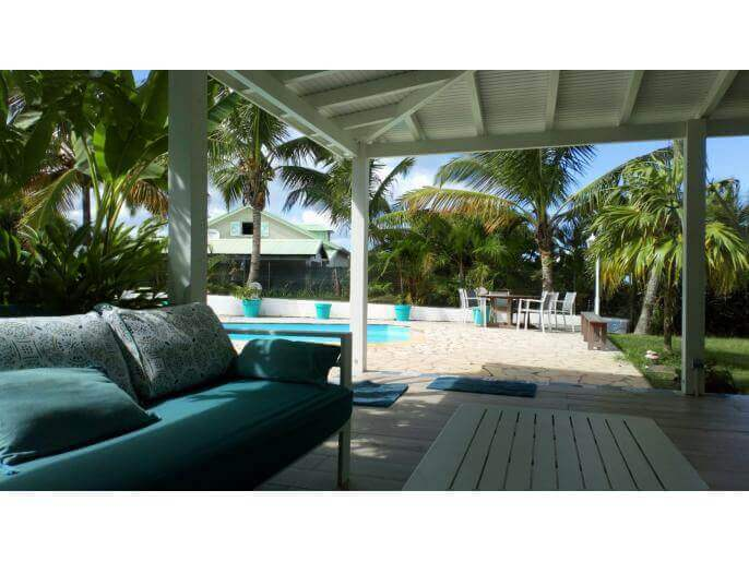 Location Maison Guadeloupe - Maison 11 couchages Baie Mahault