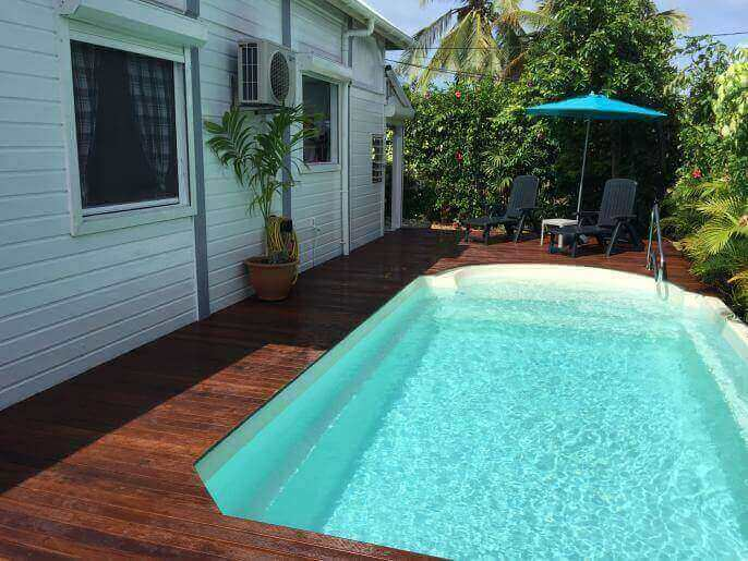 Location Maison Guadeloupe - Deck 40m²