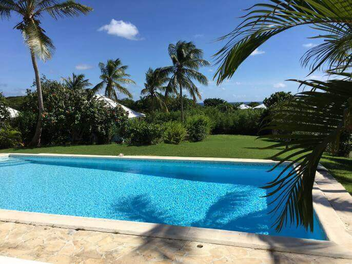 Location Maison Guadeloupe - piscine
