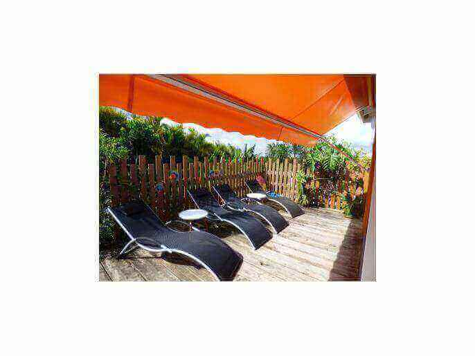 Location Maison Guadeloupe - TERRASSE KAZ TOULOULOU